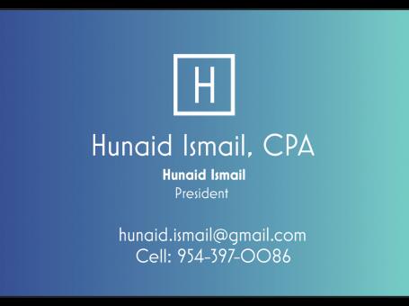 Hunaid Ismail, CPA