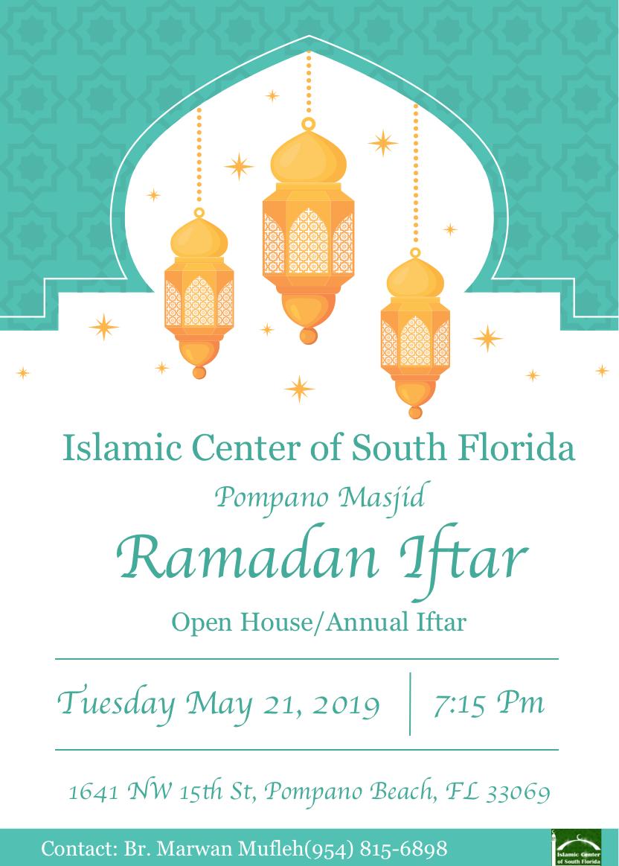 ICOSF Iftar Flyer