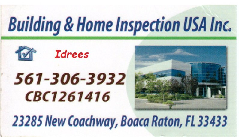 Licenced Building & Home Inspection for over 25 years