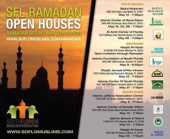 South Florida Imams plan unified SFL Townhalls ! • SoFlo Muslims