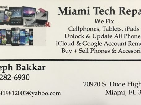 Miami tech Repair