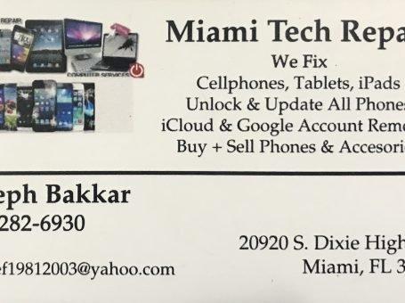 Miami tech Repair