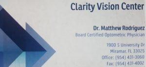 Optometrist – Clarity Vision Center