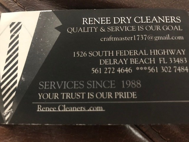Renee Dry Cleaners